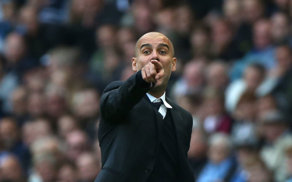 Manchester City's Spanish manager Pep Guardiola / AFP PHOTO / SCOTT HEPPELL /