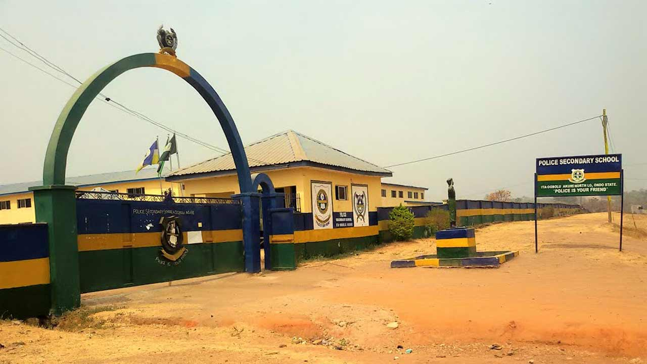 Police Secondary School, Akure, Ondo State.