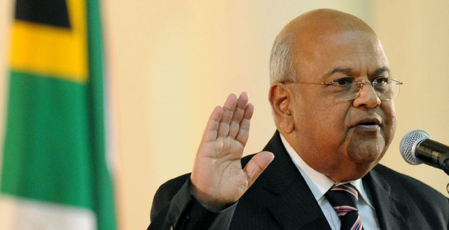 South Africa ruling party to consider finance minister's ...