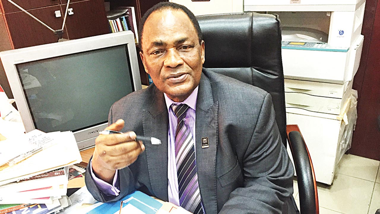 Prof. Ralph Akinfeleye, Department of Mass Communication, University of Lagos.