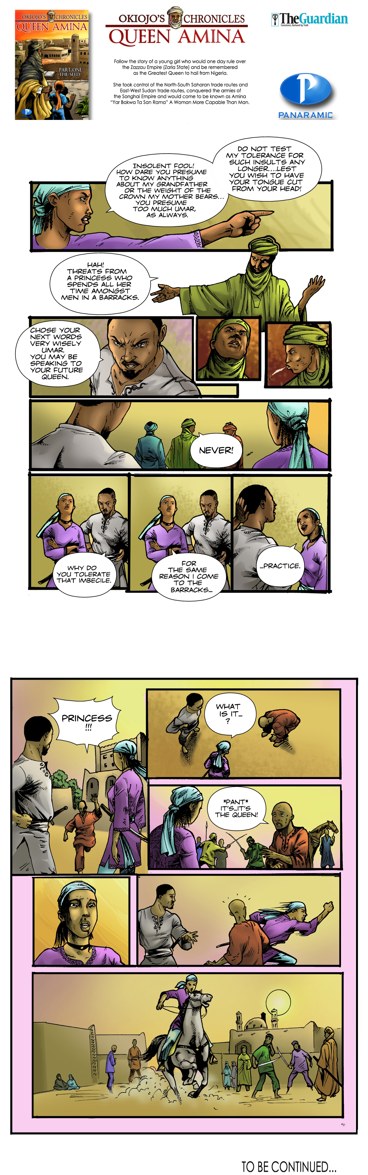 Queen Amina (Part 1) - 9