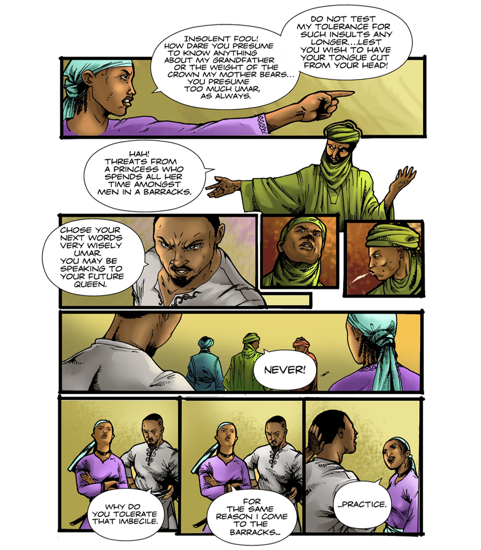 Queen Amina (Part 1) - Spotlight 9