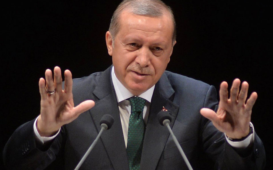 Turkish President Recep Tayyip Erdogan / AFP PHOTO / ADEM ALTAN