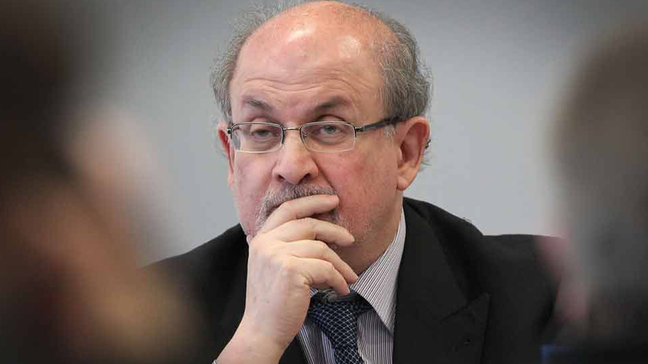 Salman Rushdie PHOTO: AFP