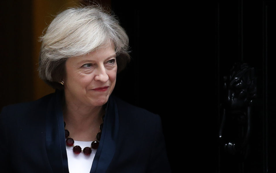 British Prime Minister Theresa May / AFP PHOTO / Daniel Leal-Olivas