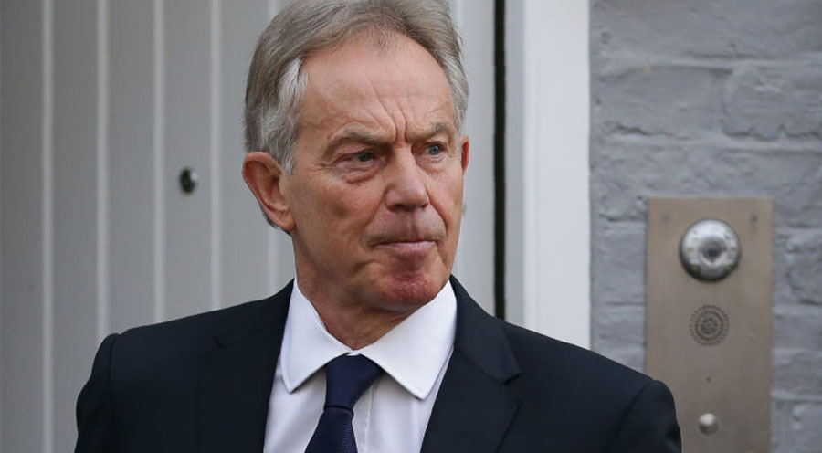 Former British Prime Minister Tony Blair PHOTO: DANIEL LEAL-OLIVAS/AFP/Getty Images)