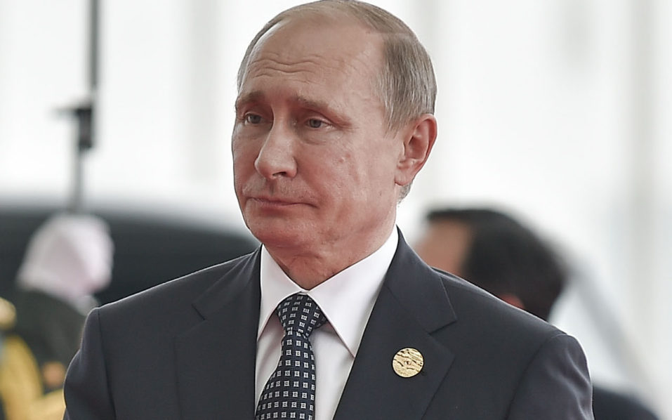 Russian President Vladimir Putin / AFP PHOTO / POOL / Etienne Oliveau /