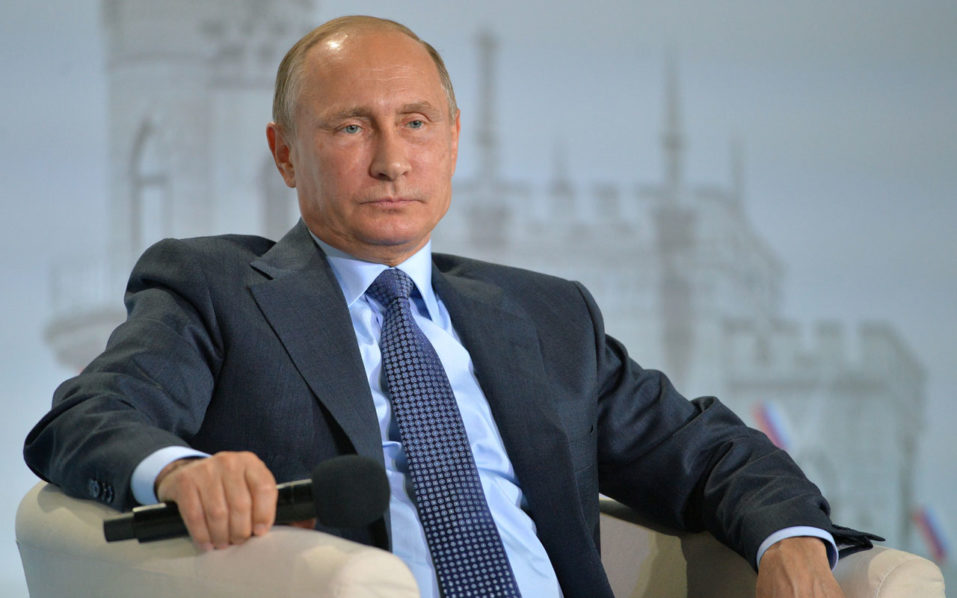 Russian President Vladimir Putin / AFP PHOTO / SPUTNIK / ALEXEI DRUZHININ