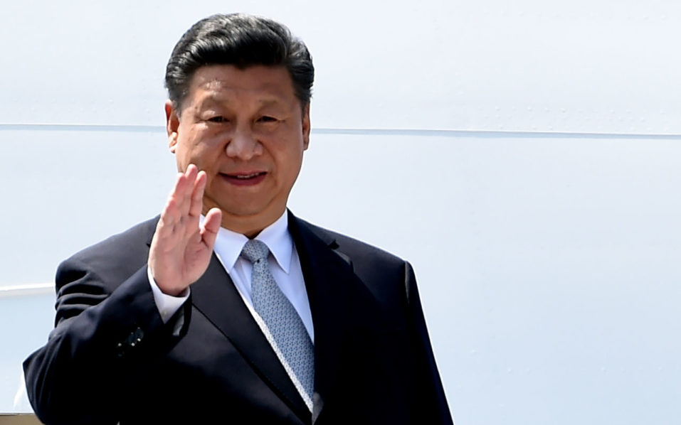 Chinese President, Xi Jinping  / AFP PHOTO / MONEY SHARMA