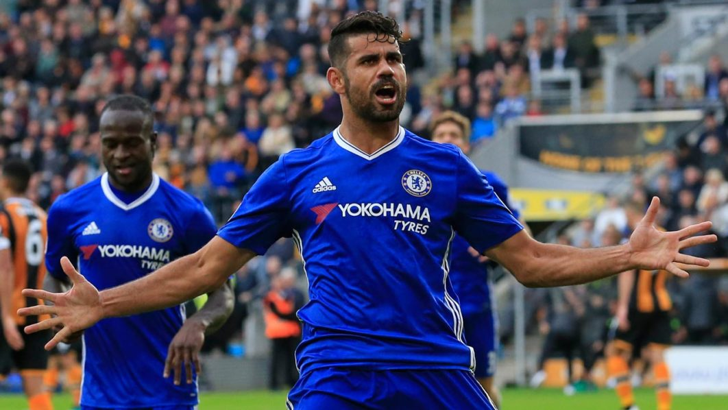 Diego Costa out of Chelsea
