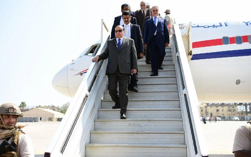 Abedrabbo Mansour Hadi. / AFP PHOTO / SABA / STRINGER /