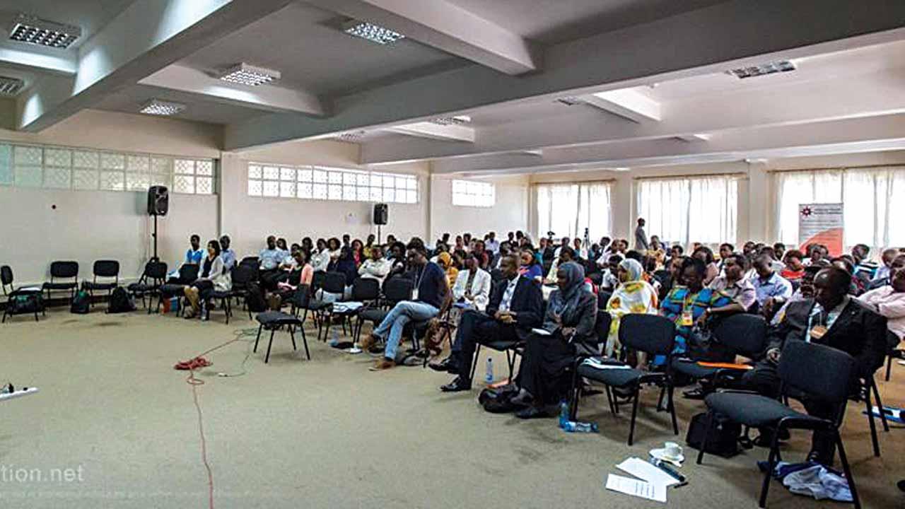 Participants at the African Peace Summit in Nairobi, Kenya