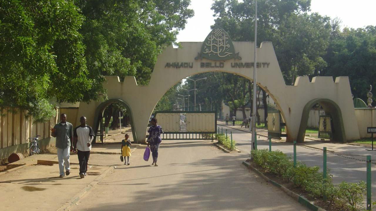 Main Entrance, Ahmadu Bello University (ABU). Photo: Guardian Nigeria