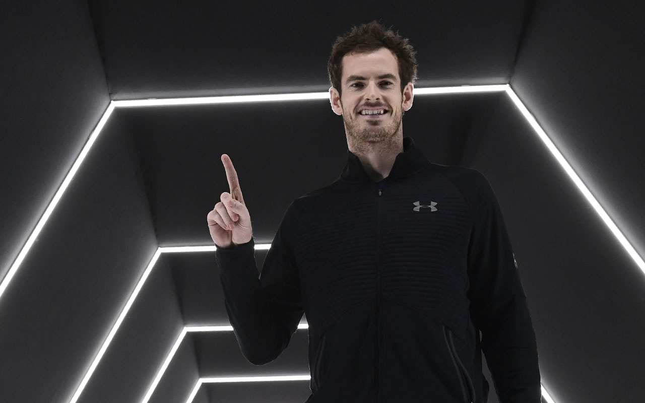 Britain's Andy Murray. AFP PHOTO / MIGUEL MEDINA