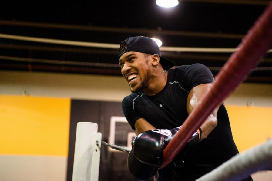 Anthony Joshua  PHOTO: LEON NEAL/AFP/Getty Images