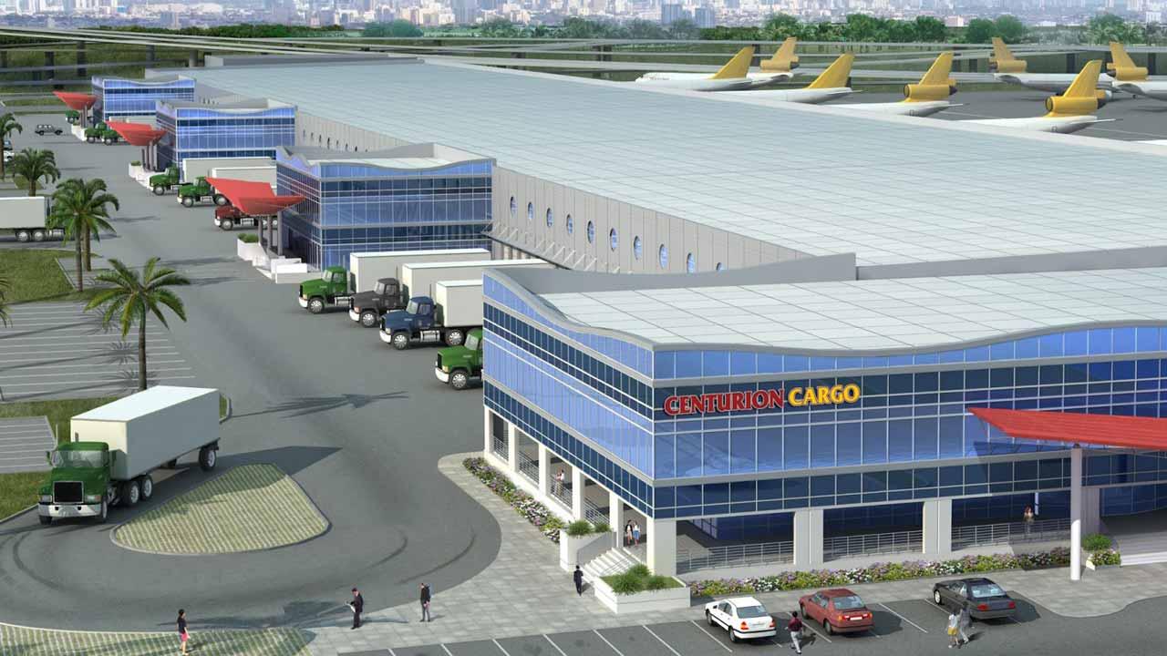 Prototype cargo airport