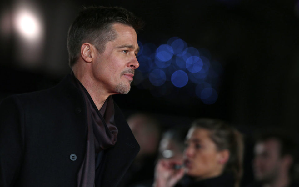 US actor Brad Pitt.  / AFP PHOTO / Adrian DENNIS