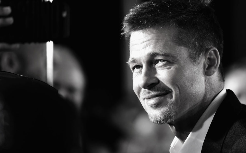 Actor Brad Pitt attends the fan event for Paramount Pictures' 'Allied' at Regency Village Theatre on November 9, 2016 in Westwood, California.   Frazer Harrison/Getty Images/AFP