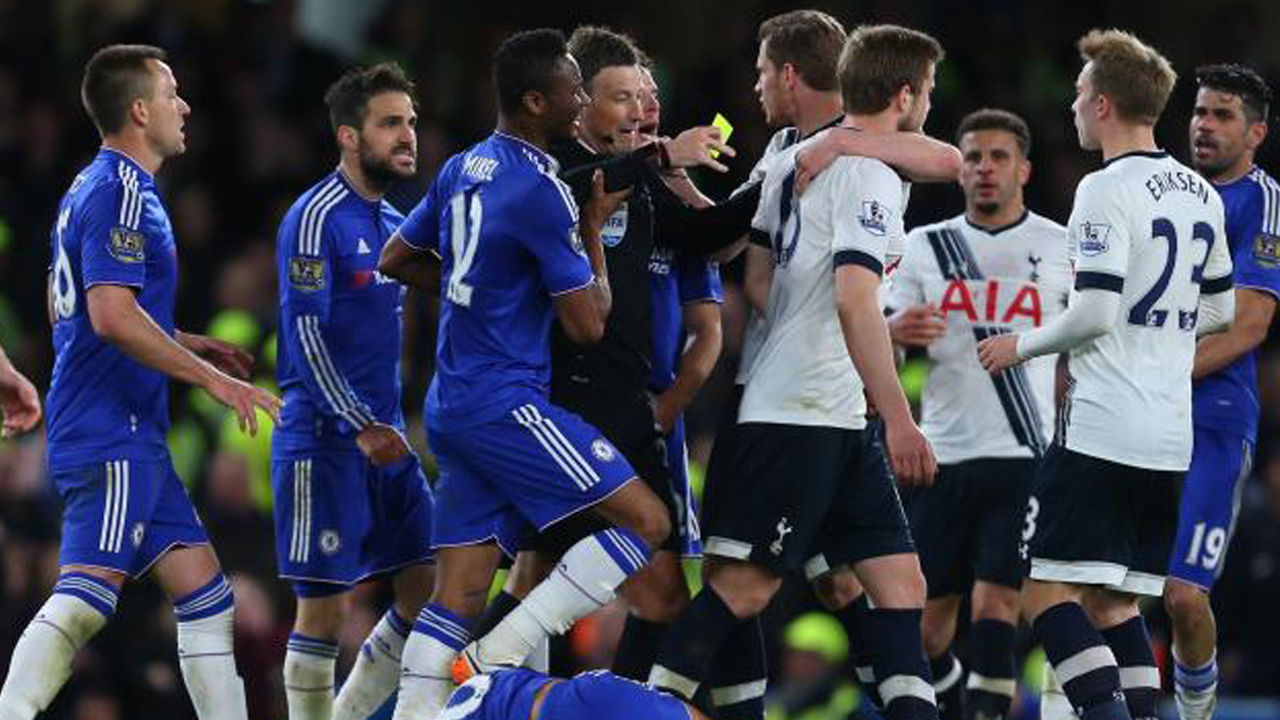Chelsea will aim to continue their winning streak against Spurs when both sides meet this weekend. PHOTO: AFP