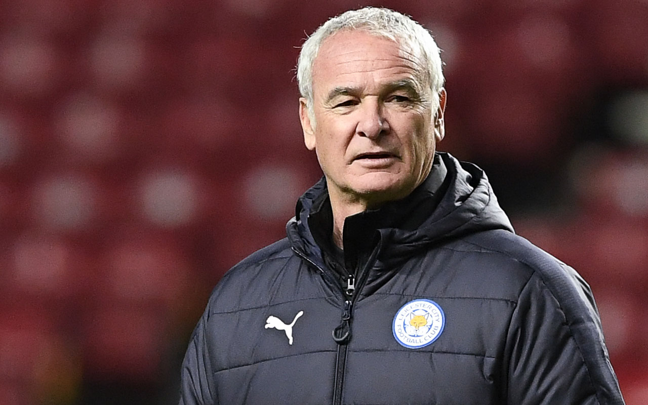 Leicester City's Italian manager Claudio Ranieri.  / AFP PHOTO / JONATHAN NACKSTRAND