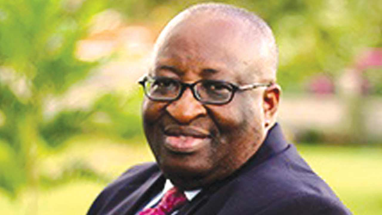 Prof. Akpan H. Ekpo,  Director-General of West African Institute for Financial and Economic Management