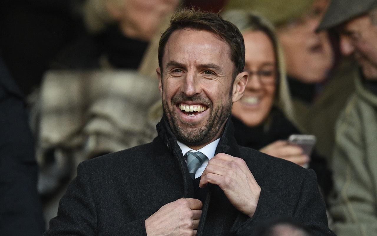 England's Interim manager Gareth Southgate / AFP PHOTO / Oli SCARFF /