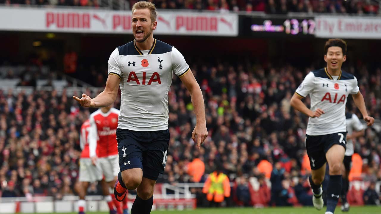 Returning Kane thwarts Arsenal's summit bid | The Guardian ...