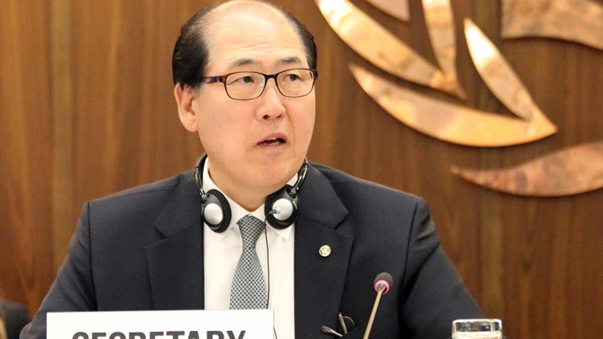 IMO Secretary-General, Kitack Lim