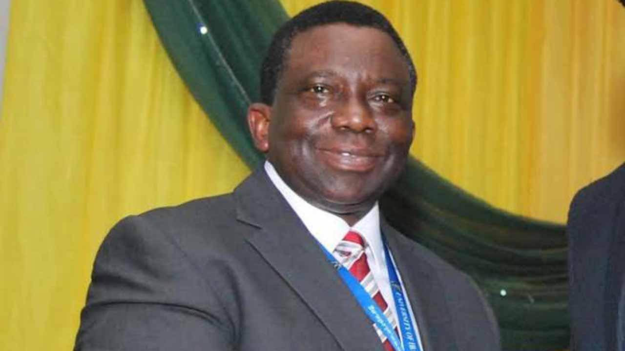 Minister of Health,  Prof. Isaac Adewole