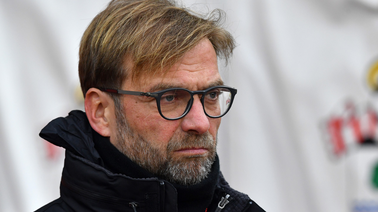 Liverpool's German manager Jurgen Klopp  AFP