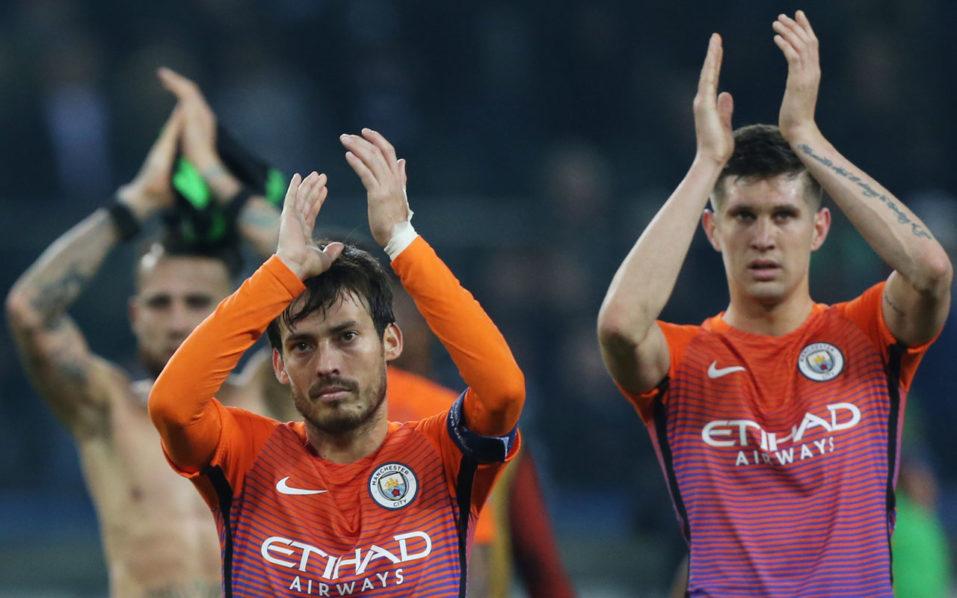 Manchester City. / AFP PHOTO / dpa / Maja Hitij / Germany OUT