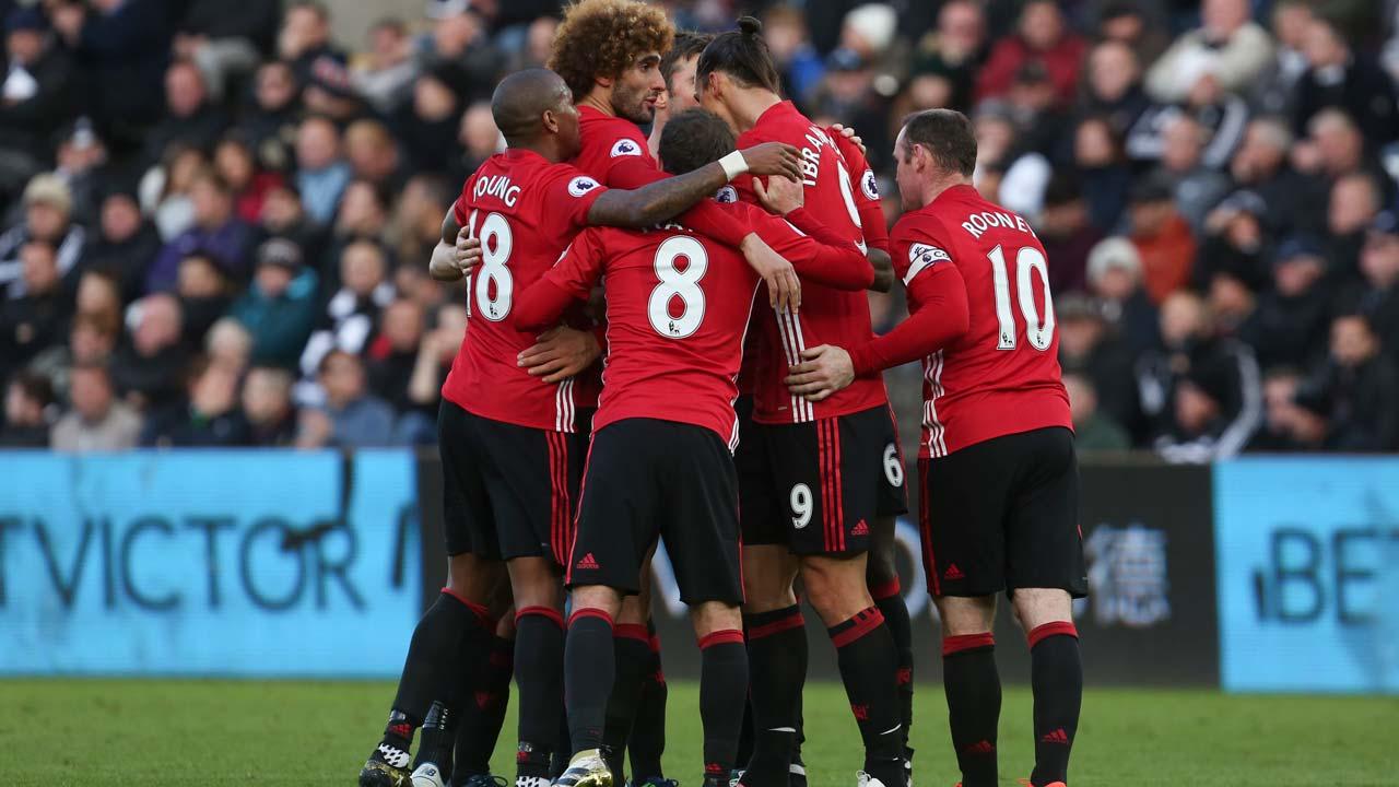 Manchester United. PHOTO: Geoff CADDICK / AFP