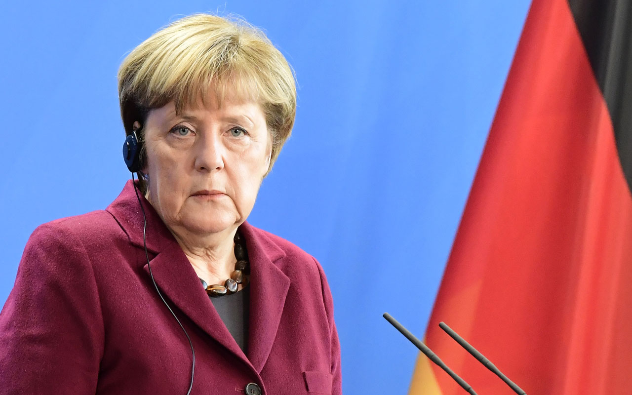 German Chancellor Angela Merkel / AFP PHOTO / TOBIAS SCHWARZ