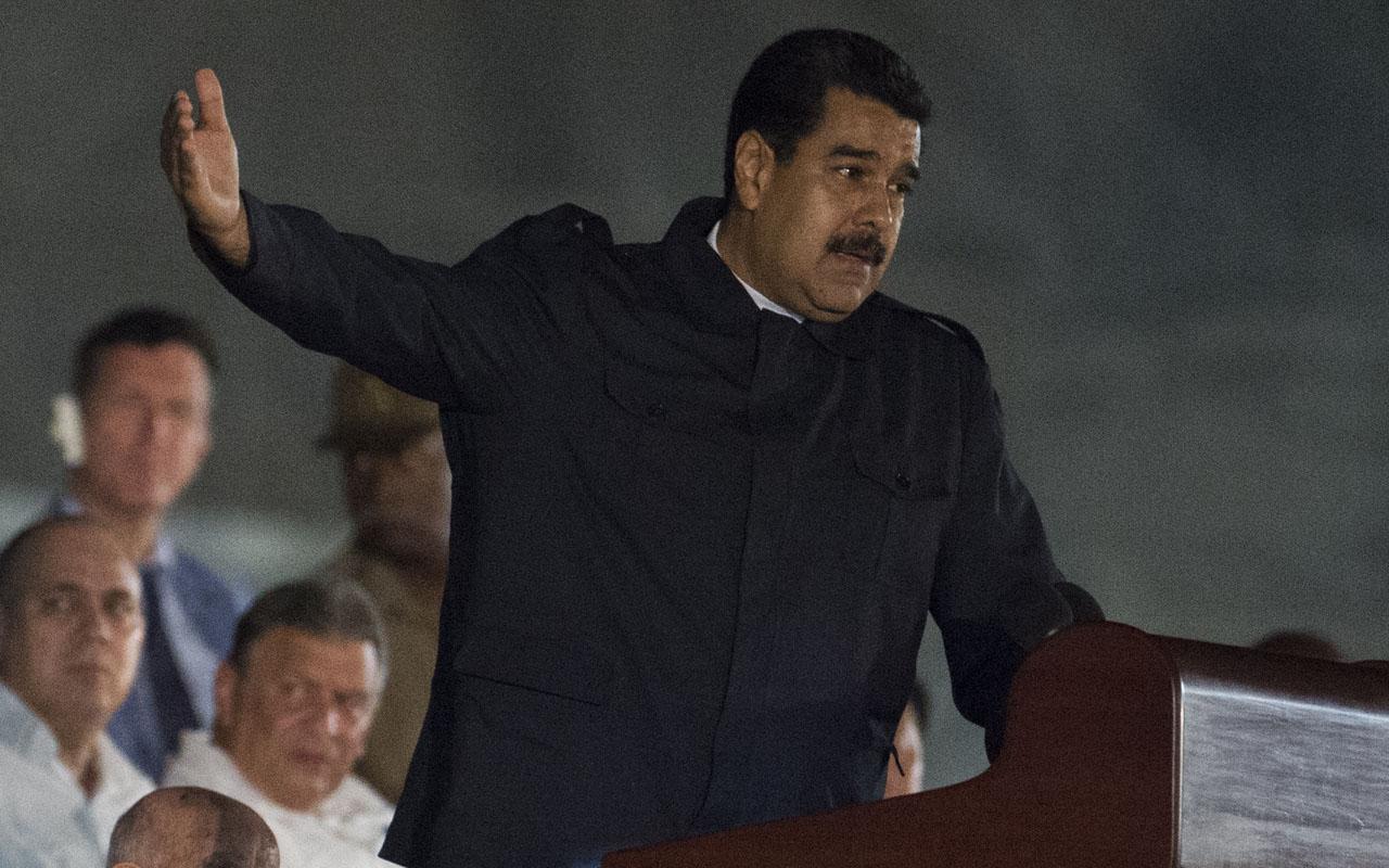 Venezuelan President Nicolas Maduro / AFP PHOTO / JUAN BARRETO