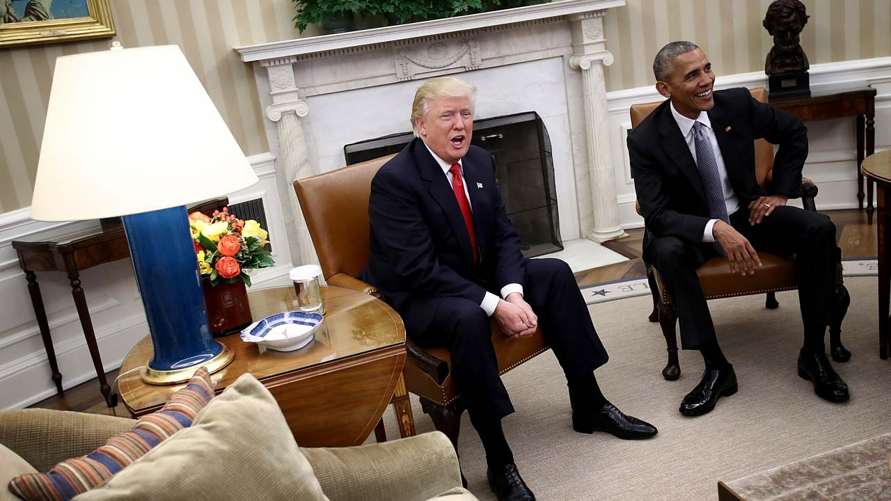 US Election Obama Hails Excellent Conversation With Trump - Us election 2016 map the guardian