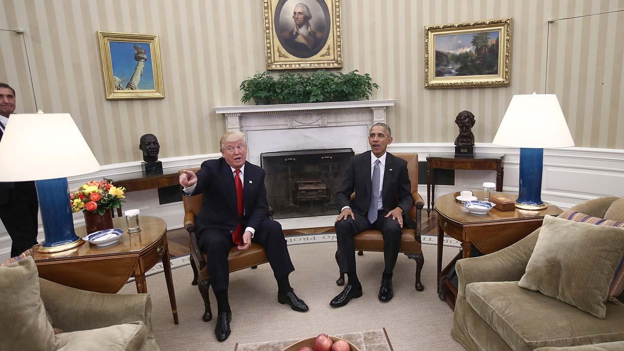 Us Election 2016 Obama Hails Excellent Conversation