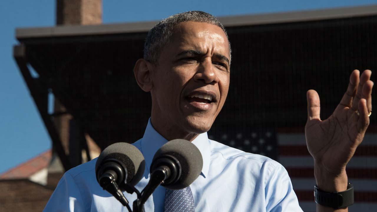 US President Barack Obama. NICHOLAS KAMM / AFP