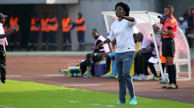 Super Falcons' Coach, Florence Omagbemi