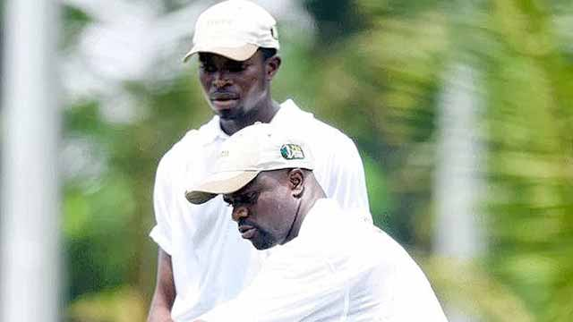 Andrew Oche Odoh (left) and Gboyega Oyebanji are two of the country's biggest players.
