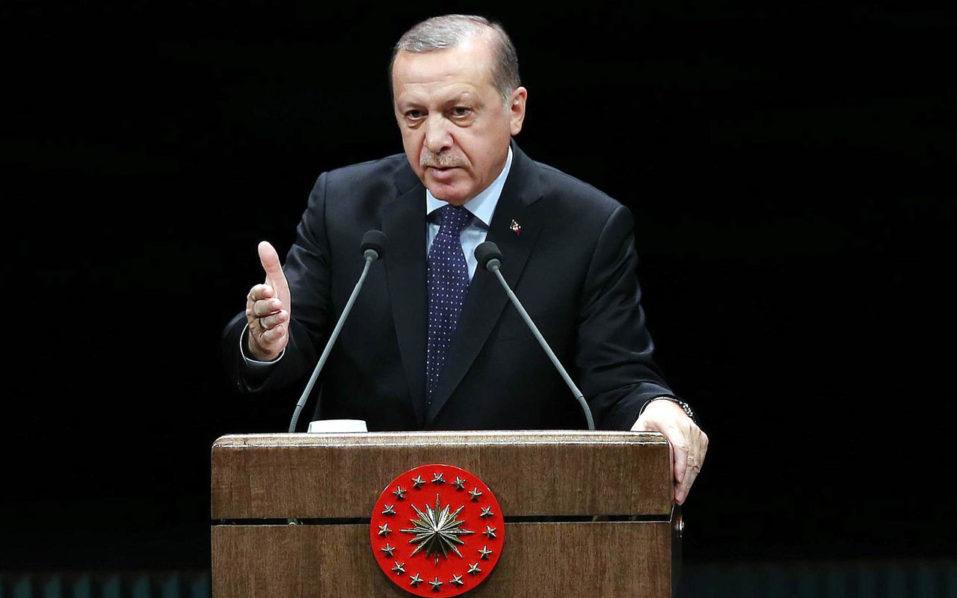 Turkish President Recep Tayyip Erdogan / AFP PHOTO / ADEM ALTAN