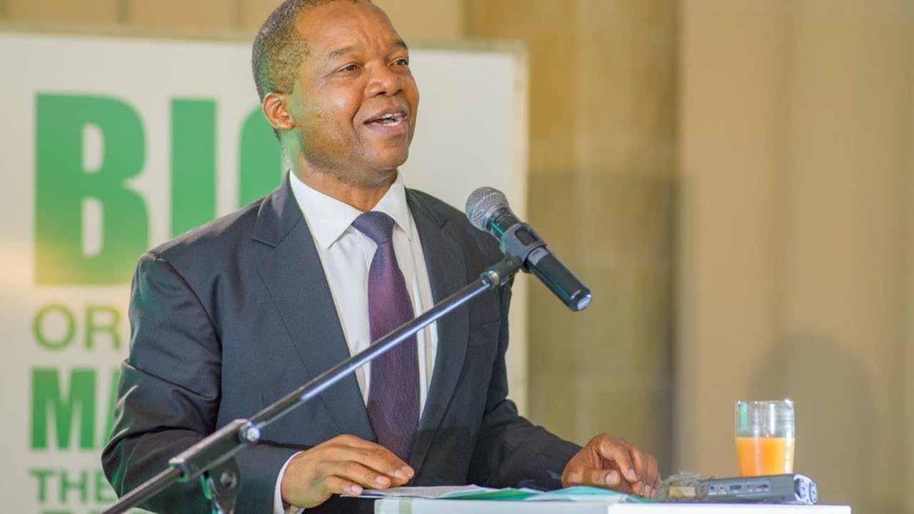 Governor of the Reserve Bank of Zimbabwe Dr. John Mangudya