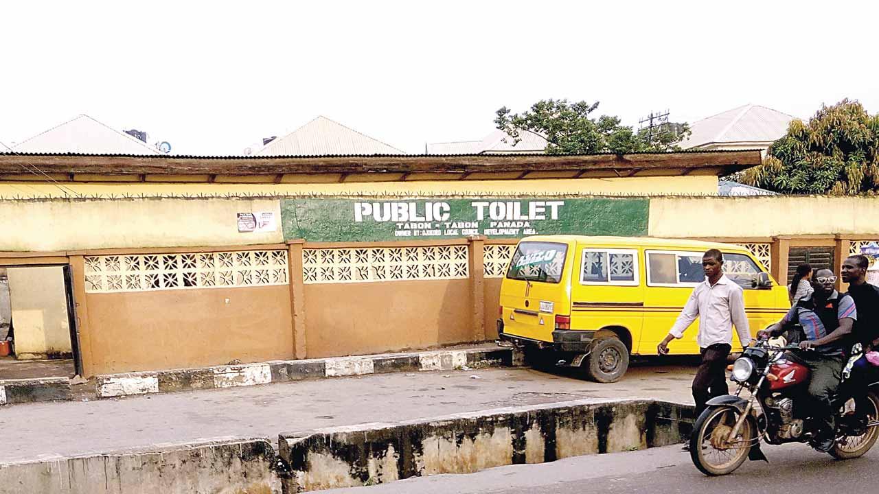 Lagos public toilets