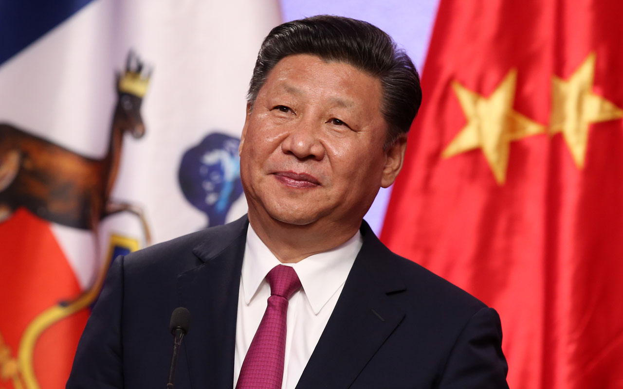 China's President Xi Jinping / AFP PHOTO / CLAUDIO REYES