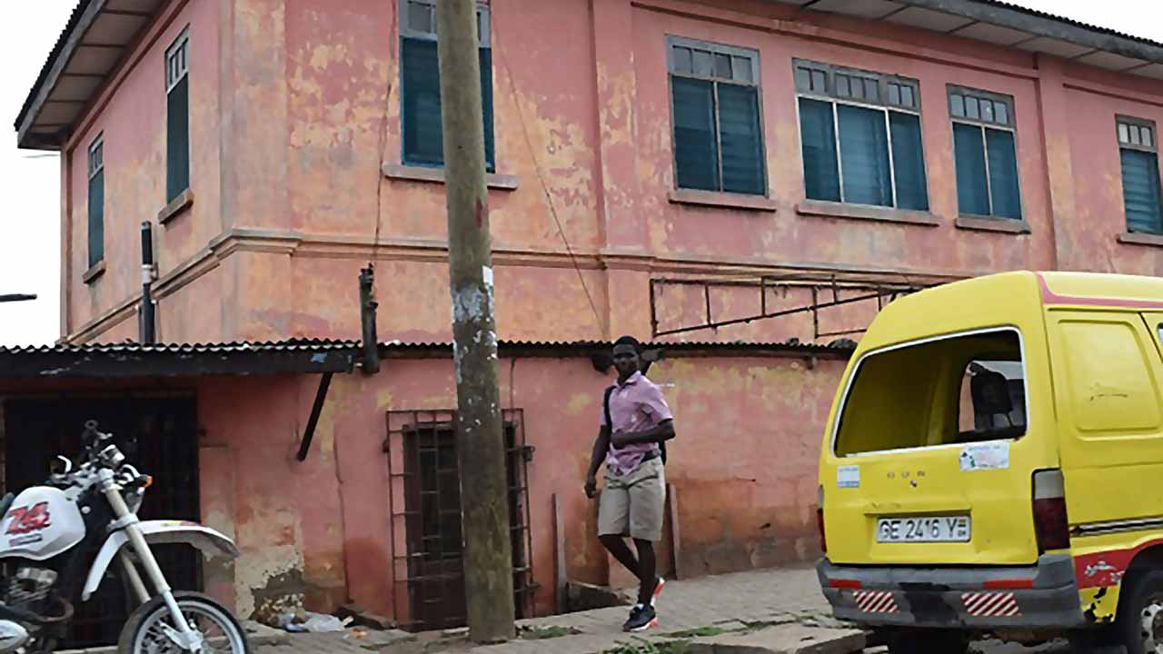 This undated photo provided December 5, 2016 by the US State Department shows a building in Accra, Ghana that operated as a US embassy. Fraudsters posing as consular officers operated a fake American embassy in the Ghanaian capital Accra for about a decade and printed counterfeit visas, a US official said Monday. US State Department spokesman Mark Toner said no one was believed to have entered the United States with one of the fake visas, which were reproductions based on genuine travel documents the con-men had obtained. PHOTO: HO / AFP