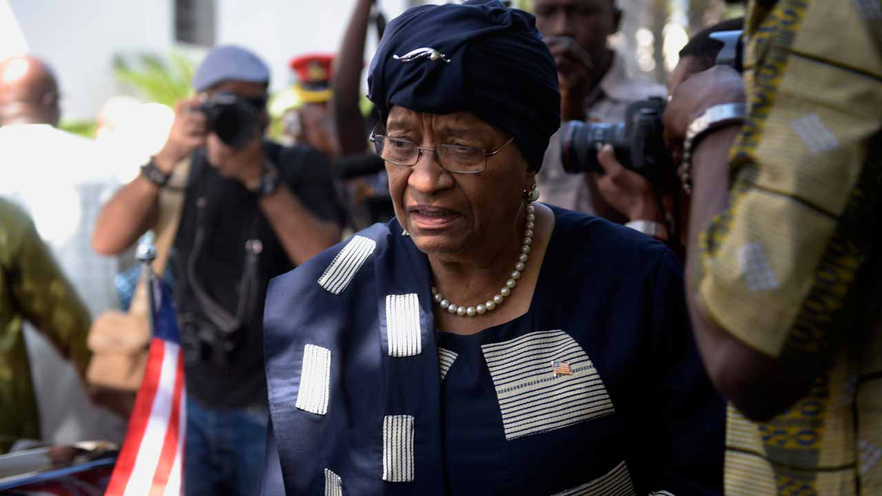 Liberia's Sirleaf hits back at vote 'interference' claims