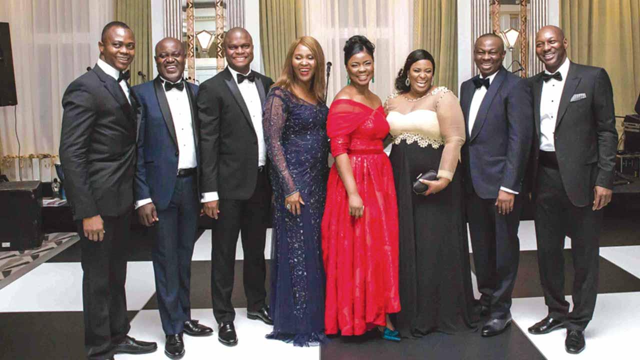 Partners, Jackson, Etti & Edu, Yusuf Asamah Kadiri (left); Obafemi Agaba, Taiwo Adeshina, Uwa Ohiku, Fola Olusanya, Chinyere Okorocha, Koye Edu and Lookman Durosinmi-Etti.
