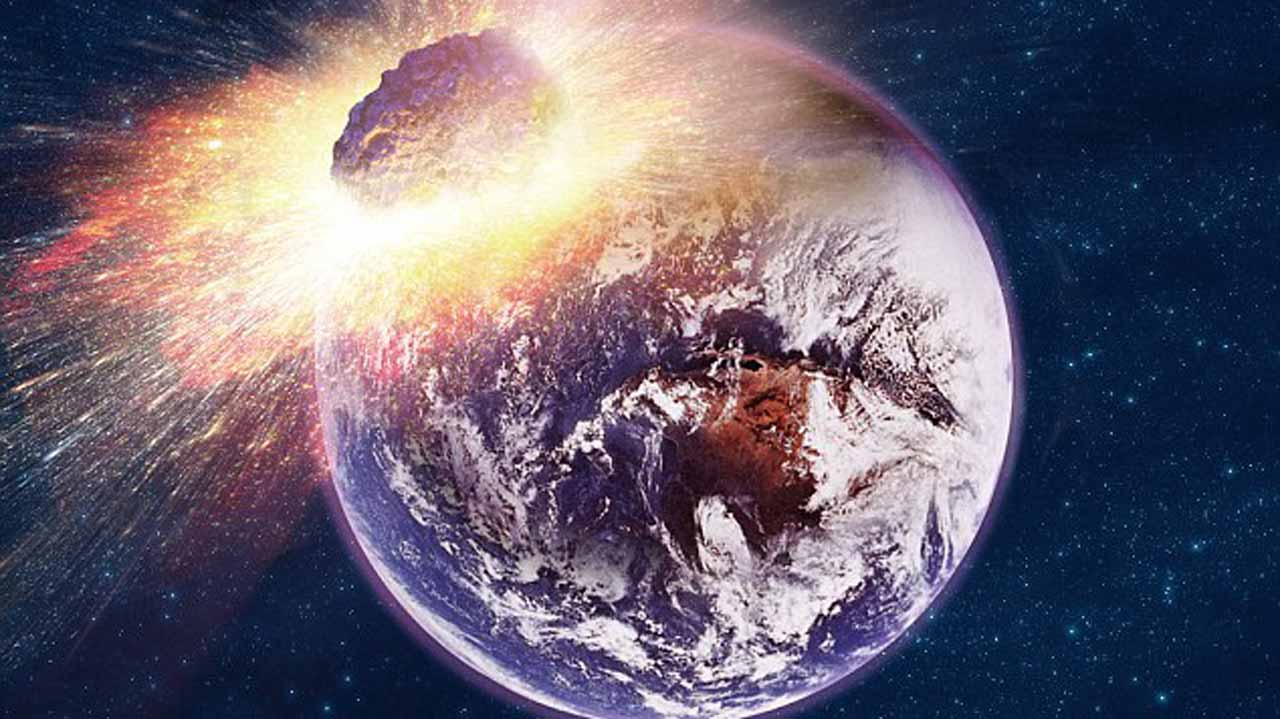 Experts have warned that humans are not prepared for an asteroid impact, and should one head for Earth, there's not much we can do about it PHOTO CREDIT: DailyMailUK Online
