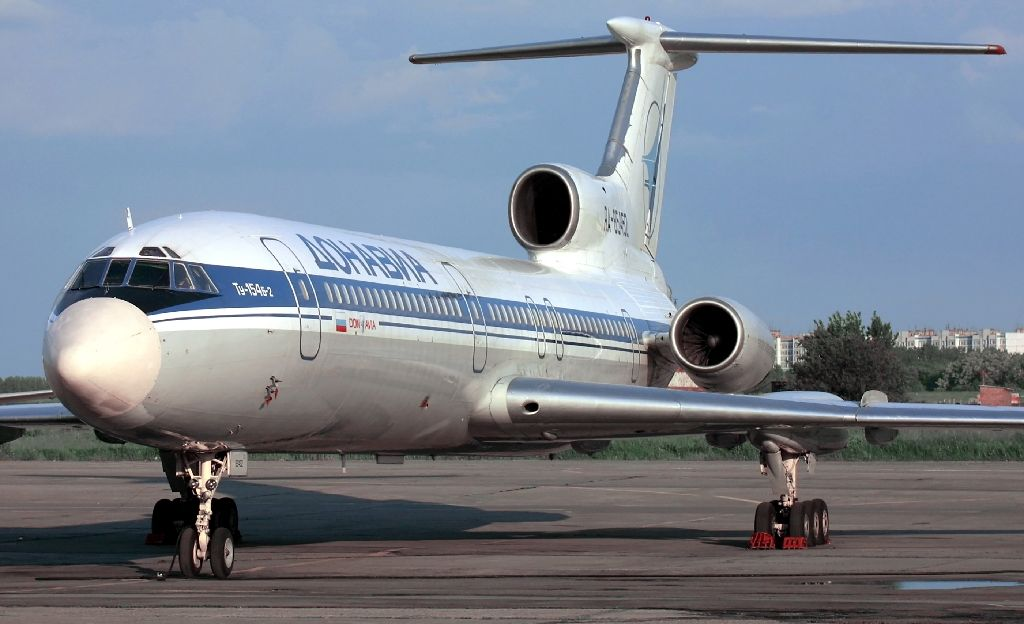 File photo shows a Tupolev-154 (TU-154) similar to a military plane which crashed in the Black Sea as it made its way to Syria with 91 people onboard (AFP Photo/Alexander NEMENOV)