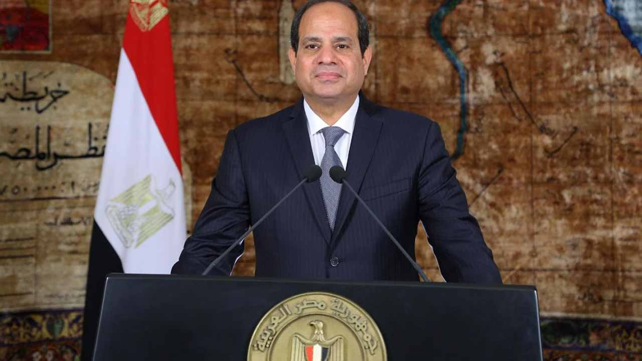Egypt's President Abdel Fattah al-Sisi.    PHOTO:  AFP