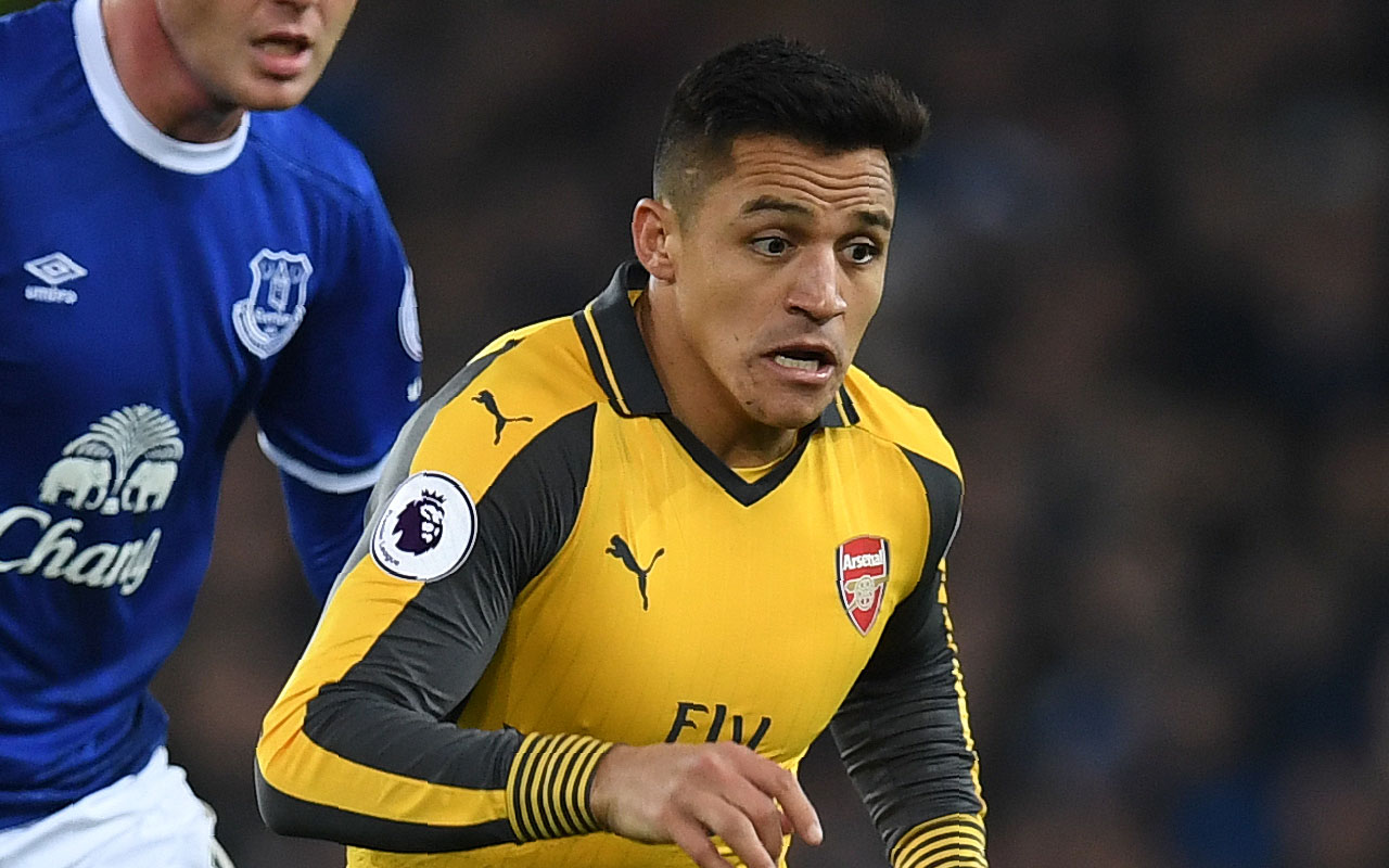 Arsenal's Chilean striker Alexis Sanchez / AFP PHOTO / Paul ELLIS /
